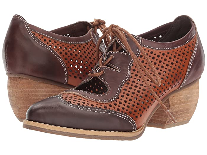 1930s Style Shoes – Art Deco Shoes LArtiste by Spring Step Gabriel Brown Womens Shoes $119.99 AT vintagedancer.com