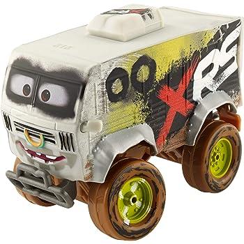 Disney Cars GBJ45 - XRS Xtreme Racing Serie Schlammrennen Die-Cast Spielzeugauto Deluxe Arvy, Spielzeug ab 3 Jahren