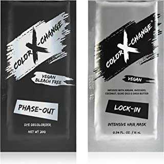 Color X-Change Phase-Out Gentle Dye Decolorizer + Intensive Hair Mask