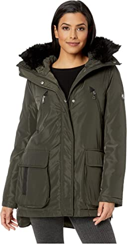 Two-Pocket Puffer Jacket