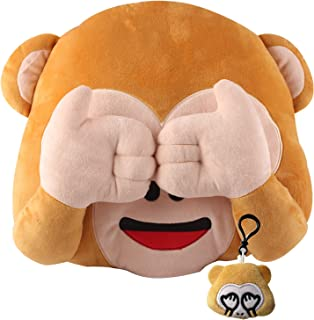 Best monkey emoji cushion Reviews