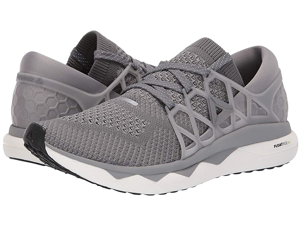 0788054fda5 Reebok Floatride Run ULTK (Solid Grey Asteroid Dust White Black) Men s  Running Shoes