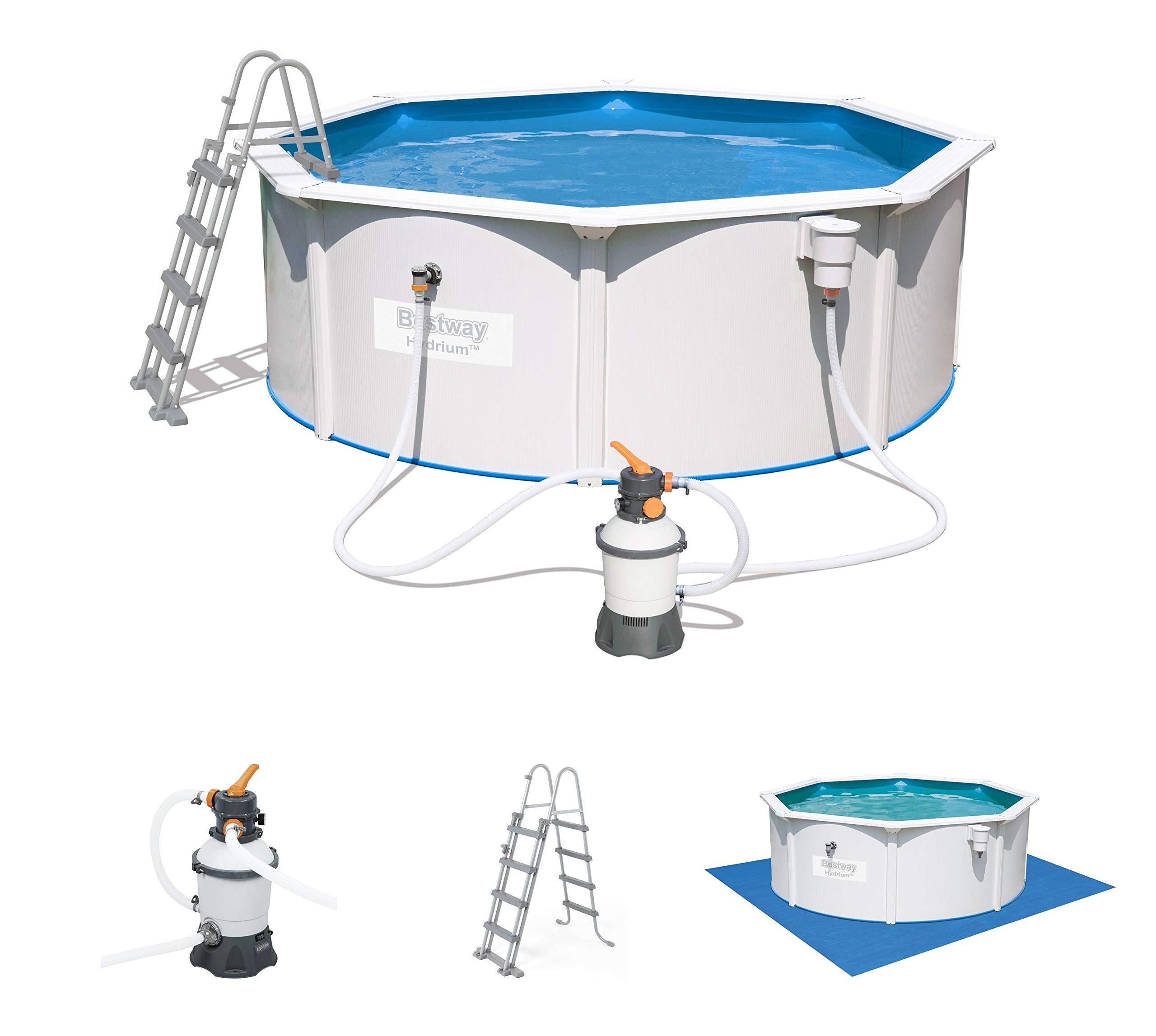 Bestway Hydrium Pool Set Piscina de Pared de Acero con Filtro de ...