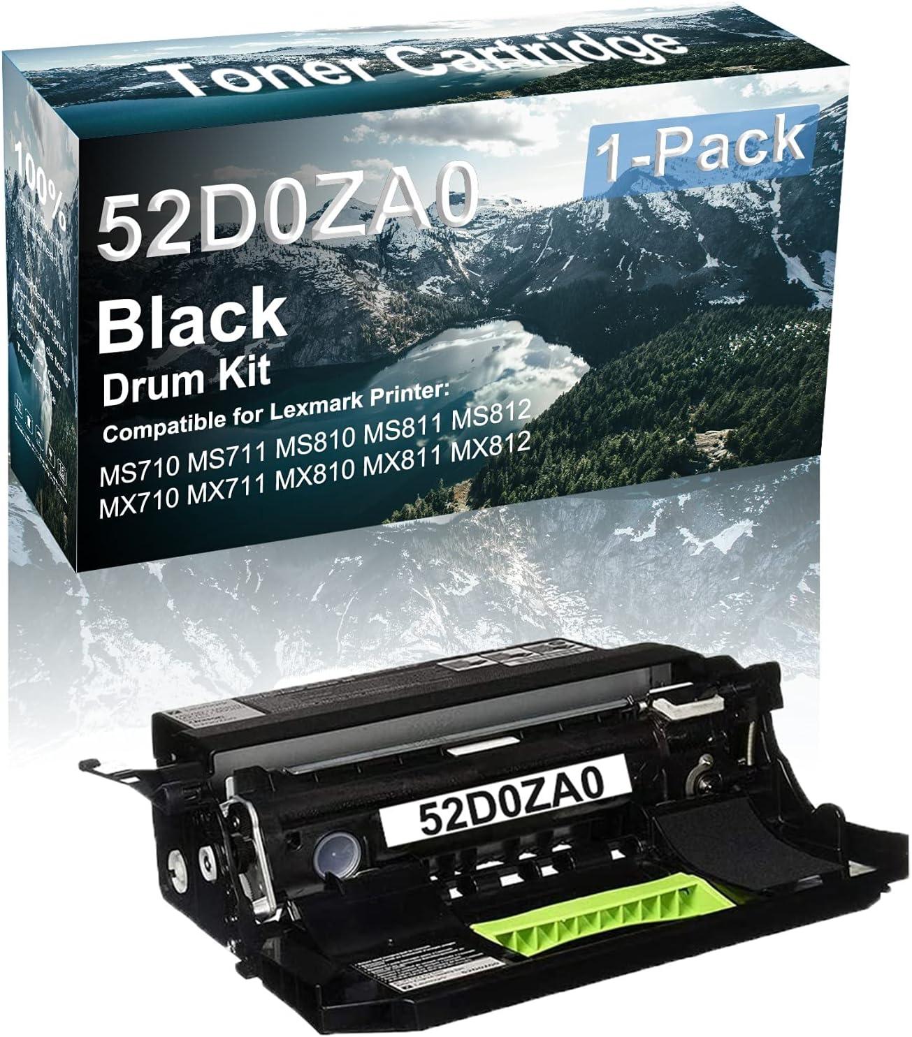 1-Pack Black Compatible MS812 MX710 Drum Popular Printer MX810 MX711 U Minneapolis Mall
