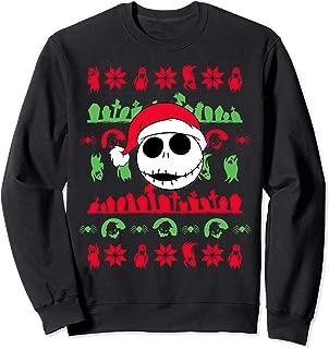 Disney Nightmare Before Christmas Jack Santa Sweatshirt