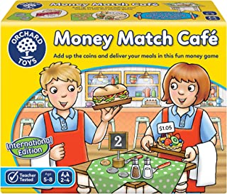 Orchard Toys Money Match Cafe International Children's Game, Multi, One Size