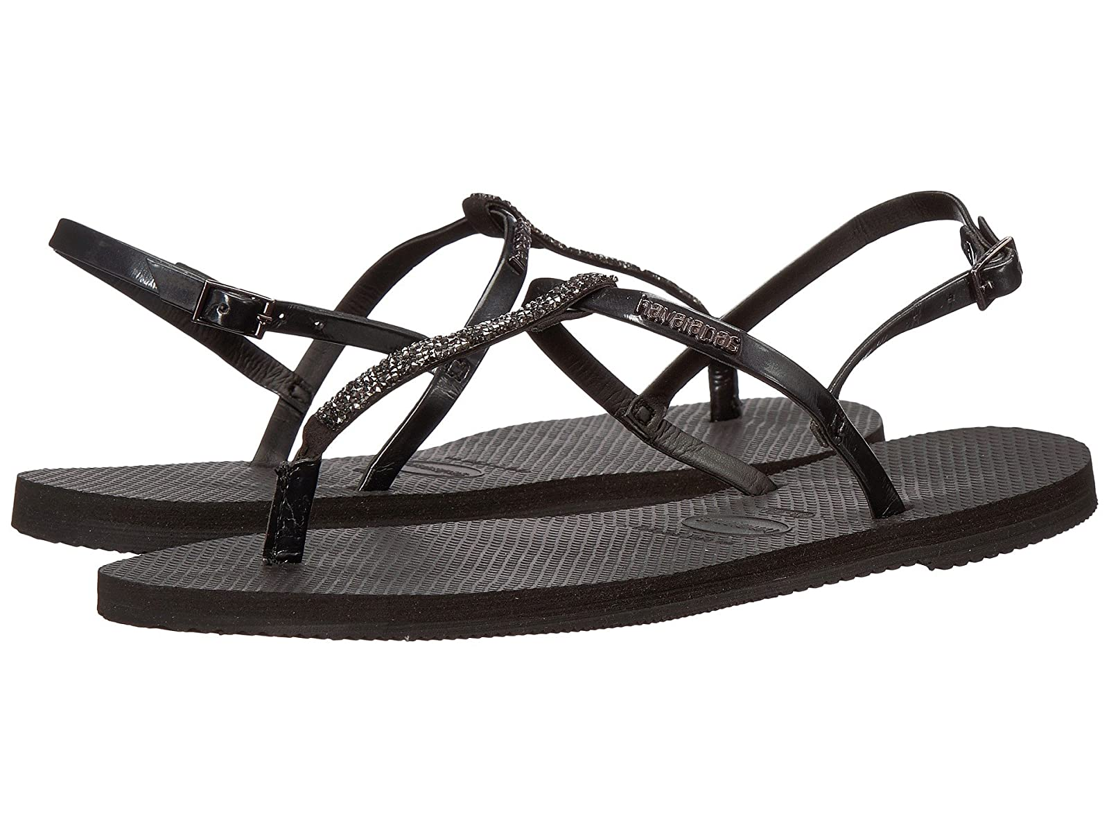 Havaianas You Riviera Crystal SandalsAtmospheric grades have affordable shoes