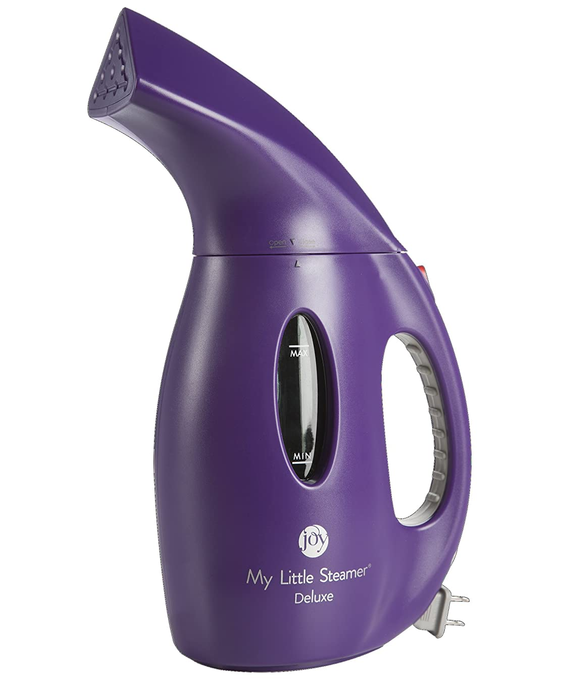 Joy Mangano MLSDELUXE50202 Little Steamer Deluxe, Purple