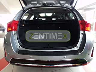 ZentimeX Interiormate Z734761 Ladekantenschutz fahrzeugspezifisch Kunststoff schwarz 3D Oberfläche