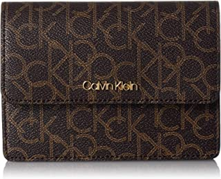 Calvin Klein womens Calvin Klein Hayden Signature Flap Crossbody