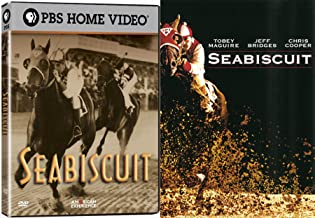 American Horse Story Double Feature Seabiscuit Movie & American Experience PBS True Story 2-DVD Set Bundle