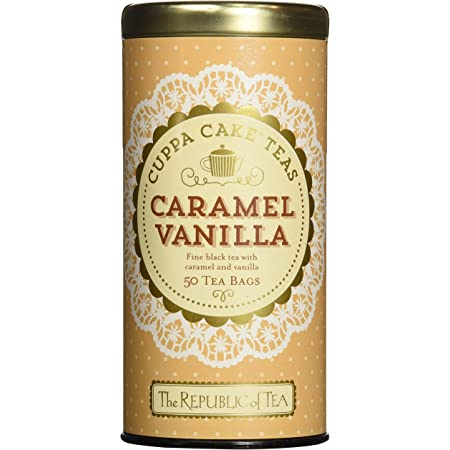 Amazon Com The Republic Of Tea Lemon Chiffon Cuppa Cake Tea 36 Tea Bags Decadent Herbal Green Rooibos Tea Health Personal Care