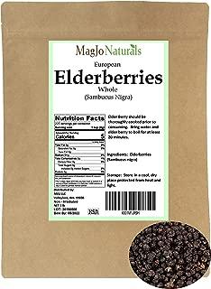Elder Berry, Elderberry Whole, Dried (1 Pound)