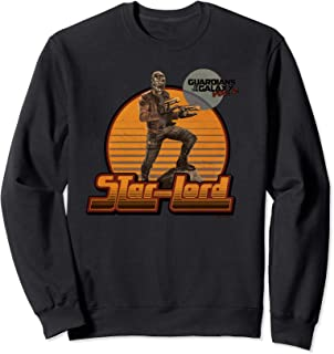 Marvel Guardians Vol2 Star-Lord Retro 70s Graphic Sweatshirt