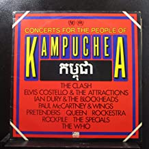 Concerts for the People of Kampuchea Original Atlantic Double Records release SD 2 7005 1980's Benefit Concert Vinyl (1981)