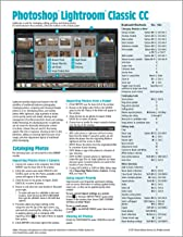 Adobe Photoshop Lightroom CC Classic Introduction Quick Reference Guide (Cheat Sheet of Instructions, Tips & Shortcuts - Laminated Card)