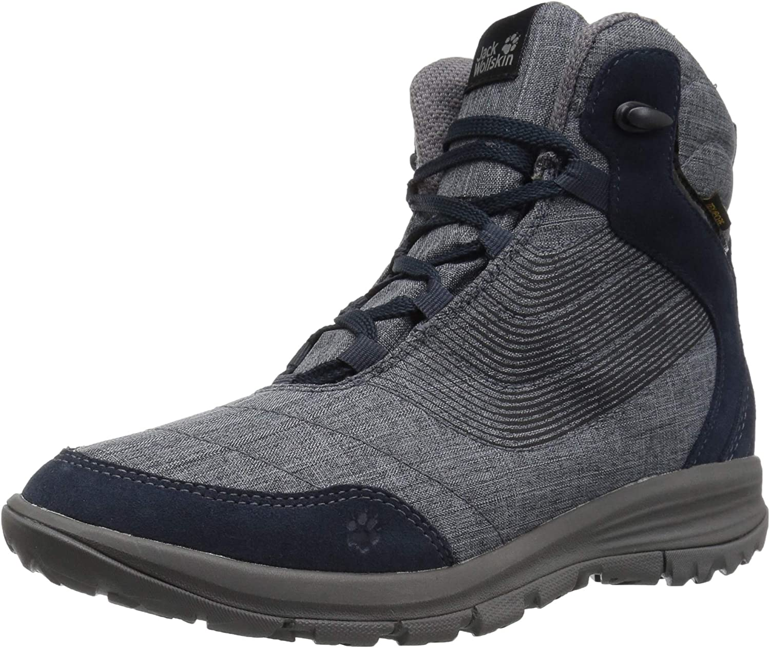Jack Wolfskin Womens Seven Wonders Texapore Mid W Women's Waterproof Casual Comfort Boot Snow Boot