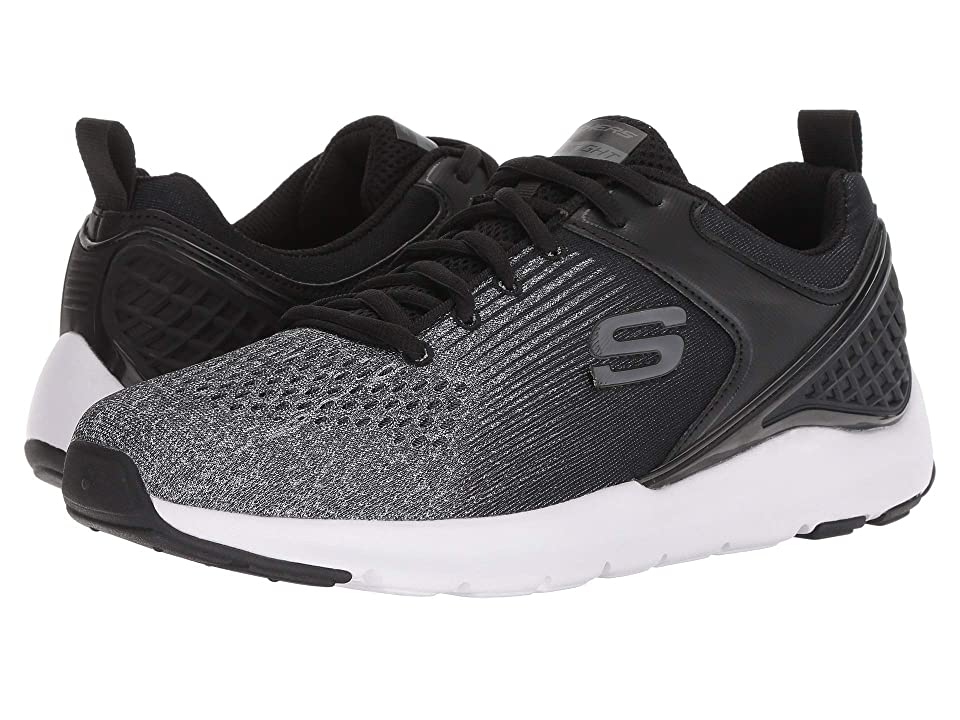 SKECHERS Nichlas (Black/Gray) Men