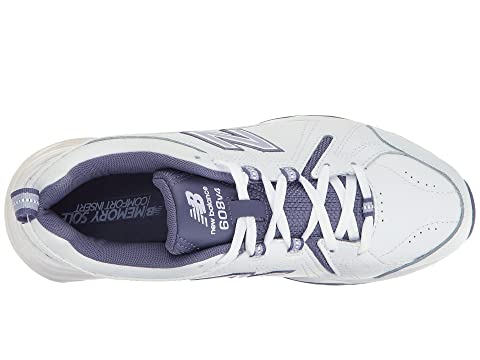 Cheap Discounts New Balance WX608v4 White/Purple Outlet Choice 100% Authentic Sale Online Marketable For Sale Best Buy vwBQaP