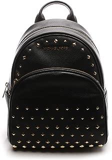 Best michael kors abbey medium studded backpack leather black Reviews
