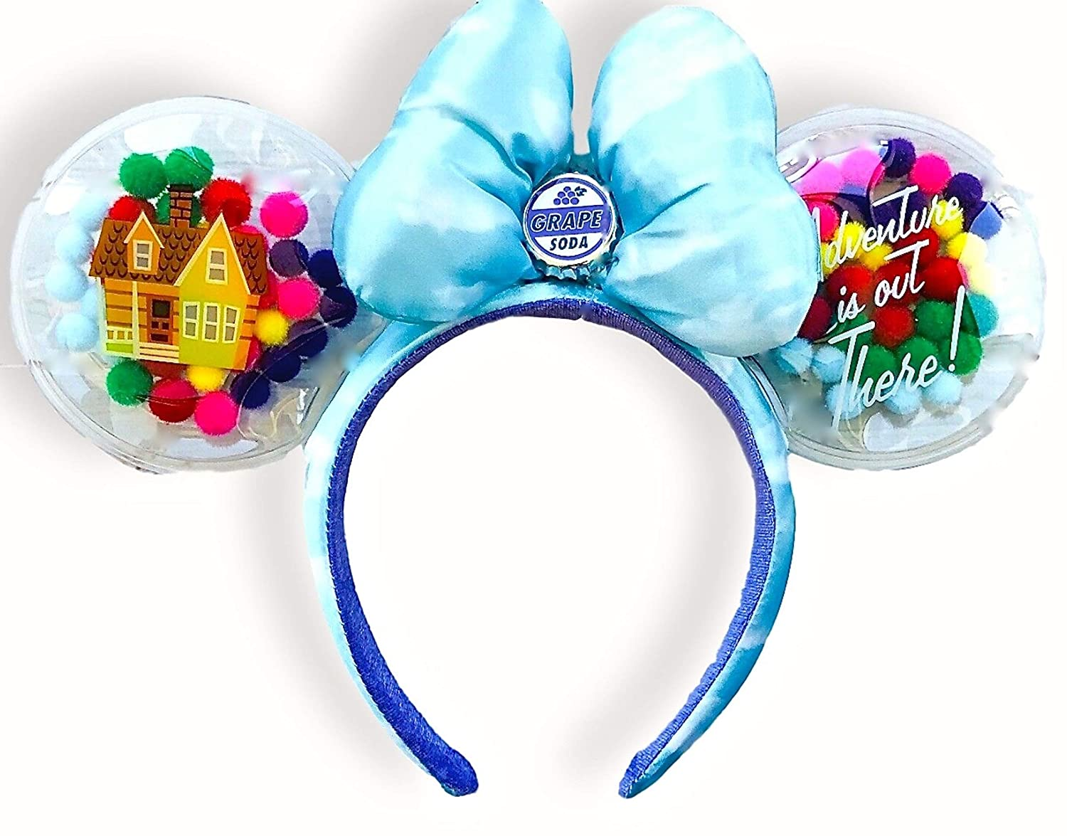 Disney Inexpensive Parks Minnie Mouse Ears - Grape Soda Excellence Up Headband