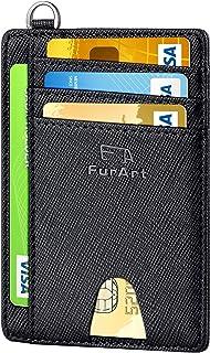 FurArt Minimalist Credit Card Holder,RFID Blocking Card Wallet,Slim Wallet for Men&Women