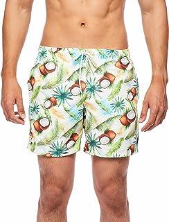RING OF FIRE Men's Tropical Ocean Pool Shorts