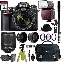 $999 » Nikon D7200 DSLR Camera with AF-S DX NIKKOR 18-140mm f/3.5-5.6G ED VR Lens + Nikon Gadget Bag & Accessory Bundle