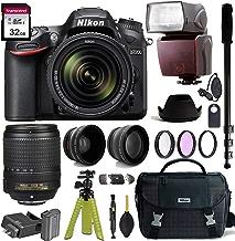 $1049 » Nikon D7200 DSLR Camera with AF-S DX NIKKOR 18-140mm f/3.5-5.6G ED VR Lens + Nikon Gadget Bag & Accessory Bundle