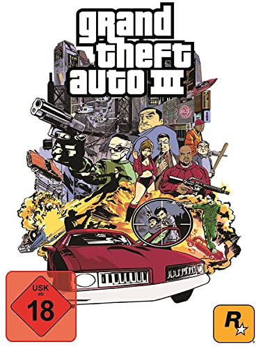 Grand Theft Auto III [PC Code - Steam]