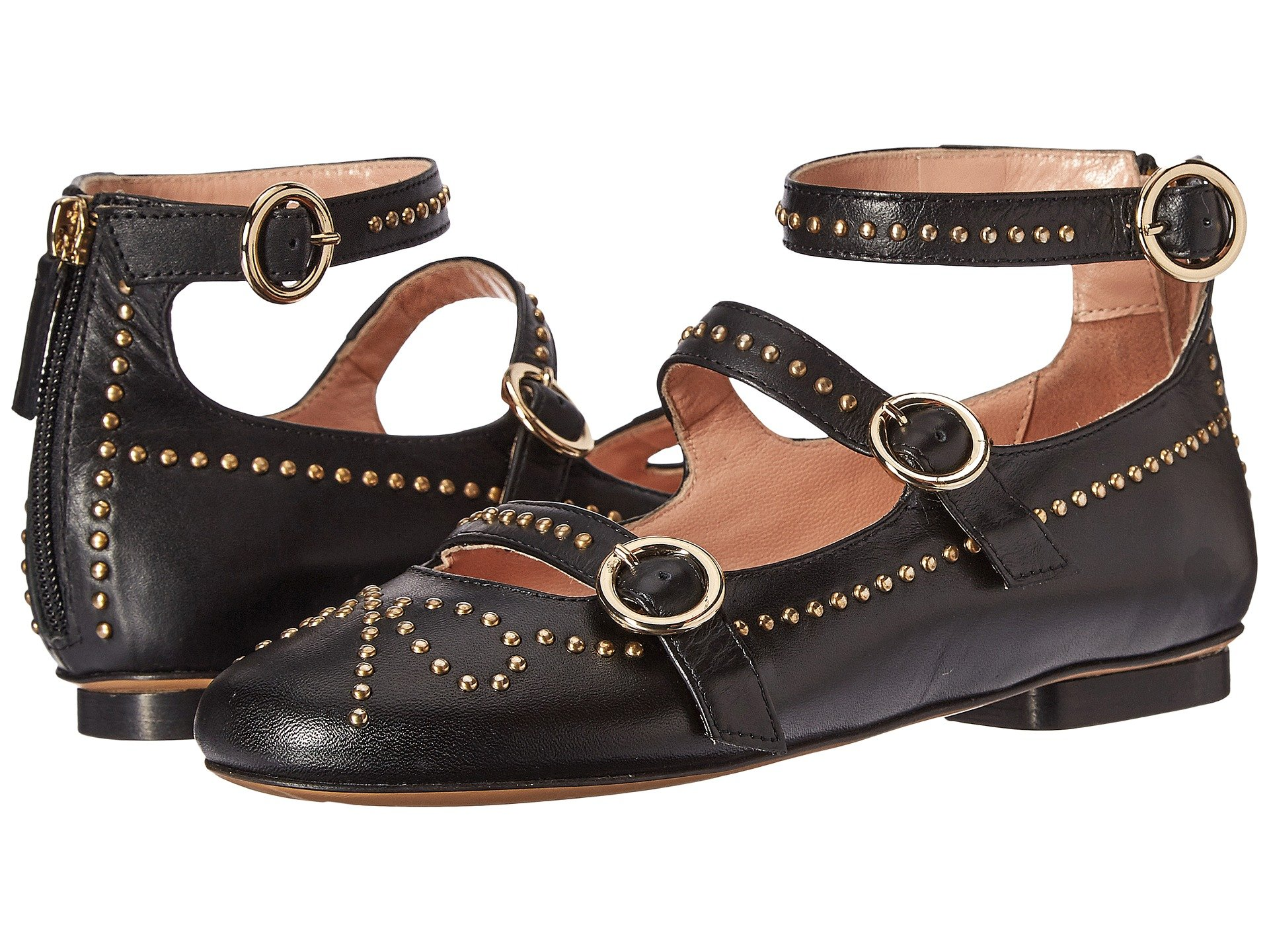 STUDDED STRAPPY FLAT