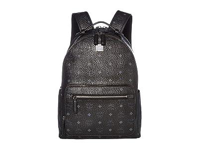 MCM Stark Backpack 40 (Black) Backpack Bags
