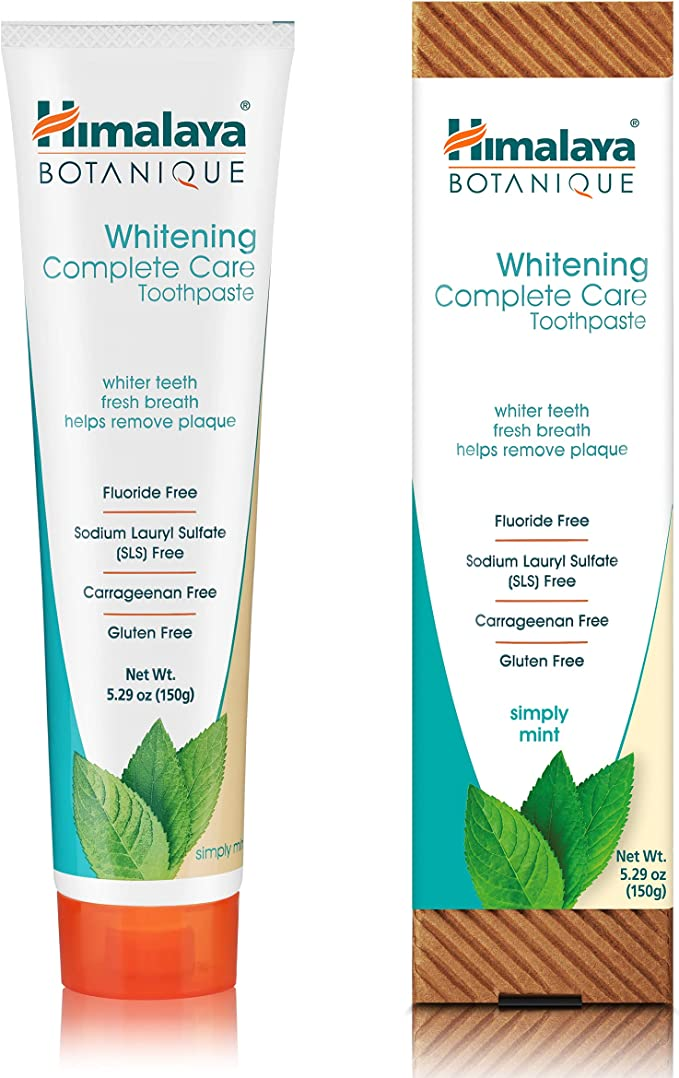 1545 opinioni per Himalaya Botanique Whitening Toothpastes (Simply Mint, 1-Pack)