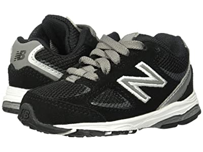 New Balance Kids IK888v2 (Infant/Toddler) (Black/Grey) Boys Shoes