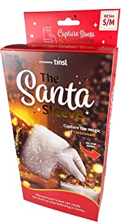 The Santa Sleeve (S/M) Unique Christmas Video Magic Must-Have to Capture Memories - Authentic Santa Costume Recording Prop...