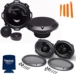"""$299 » Sponsored Ad - Rockford Fosgate 1 Pair of P152-S Punch 5.25"""" Component Systems and 1 Pair of P1692 6X9 Punch Coaxial Speakers"""