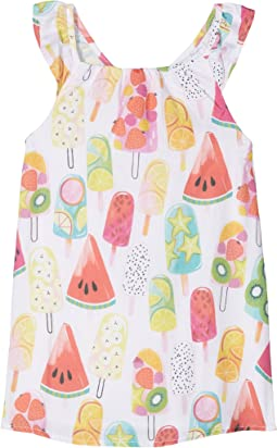 Fruity Lollies Bow Back Dress (Toddler/Little Kids/Big Kids)