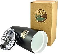 NEW Ceramic Coated Travel Mug - Gen2 20oz ceramic coated travel mug. THE ORIGINAL - with Taste Lock ceramic coating and pressure sealing lid/straw. Quality ceramic travel mug by: Taste The Earth
