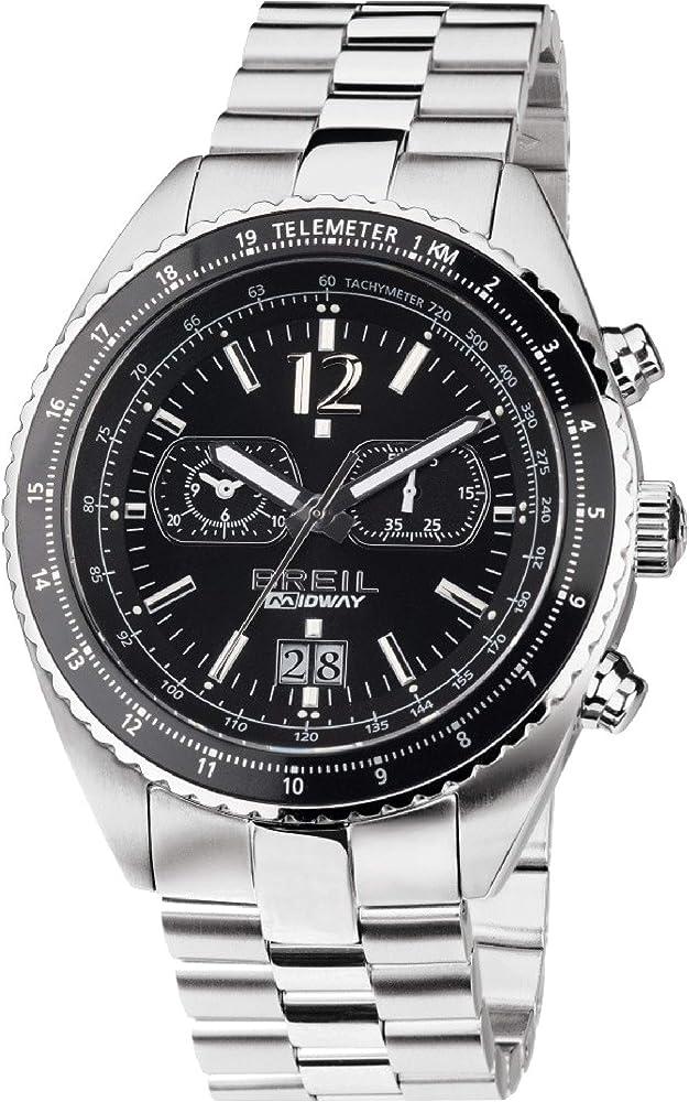Breil orologio cronografo per donna in acciaio inossidabile 7612901622491