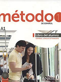 Método 1 de español. Libro del Alumno A1: Libro del alumno + CD (A1): Vol. 1 (Métodos - Método - Método 1 de español A1 - ...