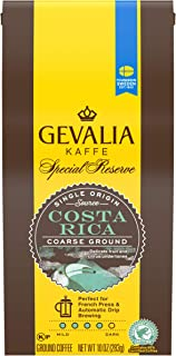 Gevalia Costa Rica Ground Coffee, Caffeinated, 10 oz Bag