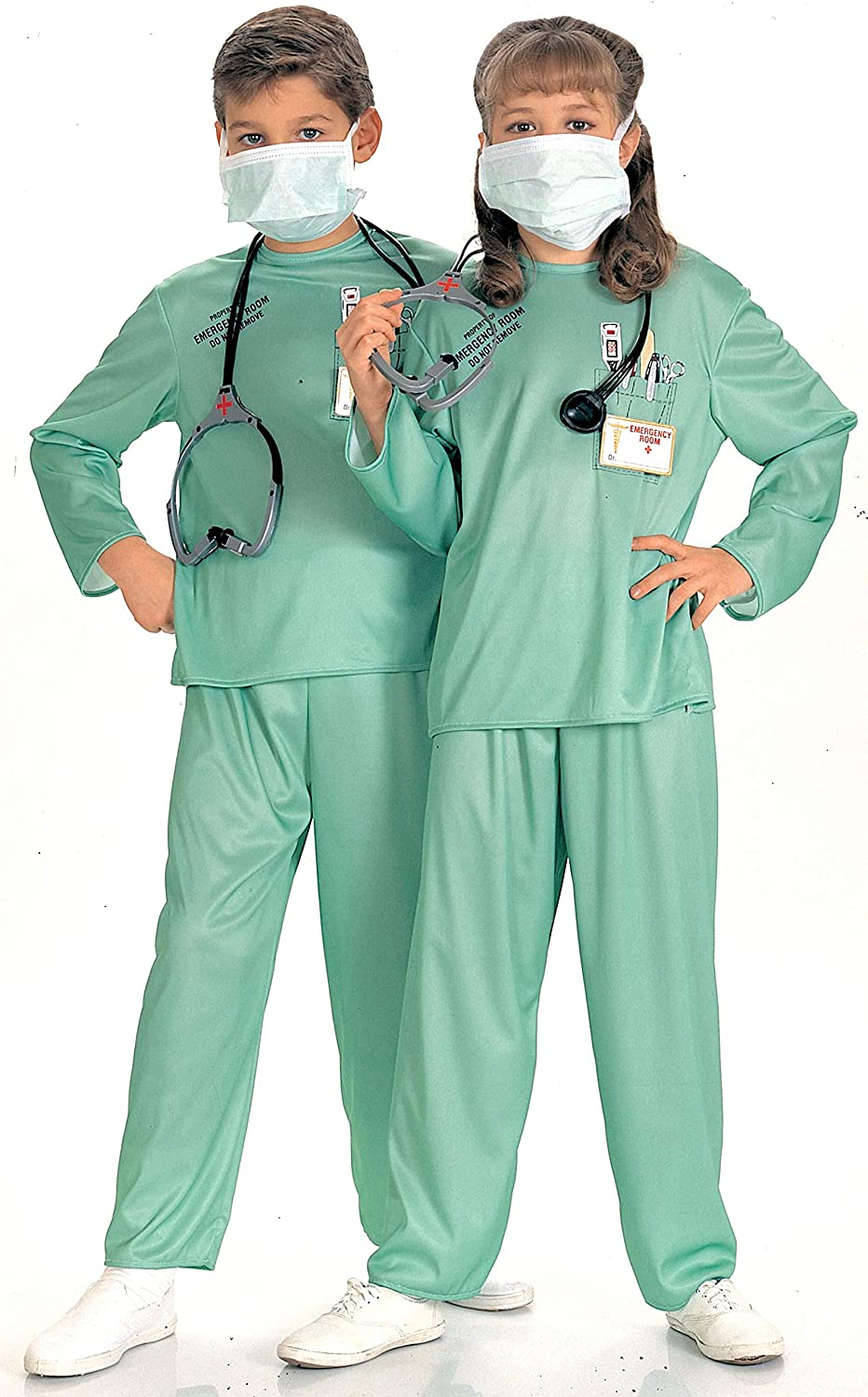 Rubie's Selling rankings Child's E.R. Large Columbus Mall Costume Doctor