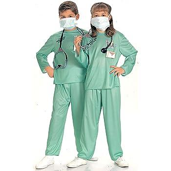 Disfraz de médico doctor para niño, Talla M infantil 5-7 años ...