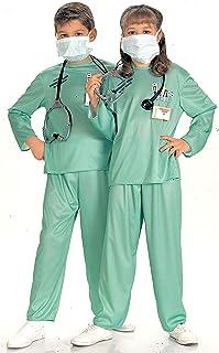 Disfraz de médico doctor para niño, Talla M infantil 5-7 años (Rubie's 881061-M)
