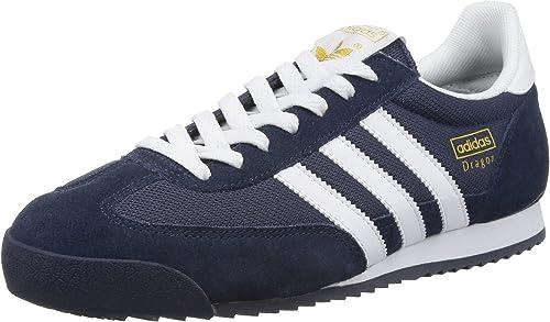 adidas Originals Dragon, Baskets homme - Bleu (New Navy/White ...