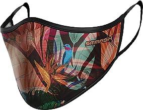 SMMASH Beschermend mondkapje voor in de zomer, stofafstotend luchtdoorlatend masker, herbruikbaar, wasbaar, licht materiaa...