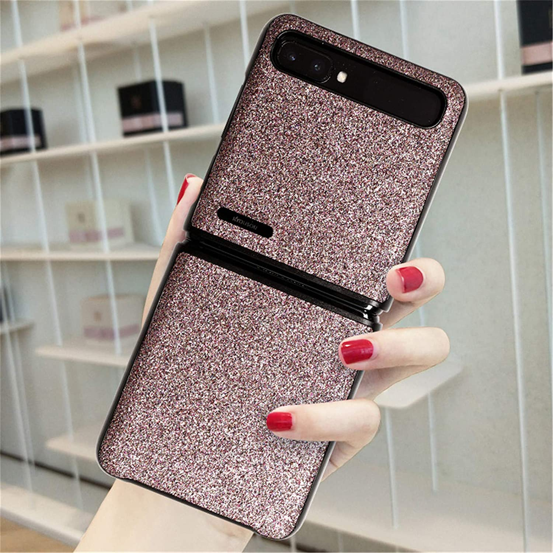 Breclar Samsung Galaxy Z Flip CaseZ Flip 5G Case, Slim Shockproof Phone Case Cover for Samsung Galaxy Z Flip 5G 2020 Pink…