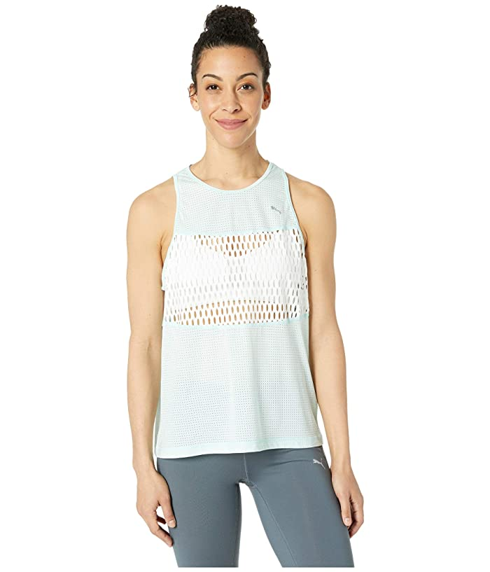 PUMA Cosmic Tank TZ (Fair Aqua/Puma White) Women