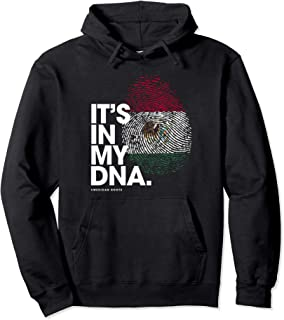 IT'S IN MY DNA Mexico Flag Shirt Mexican Roots Pullover Hoodie