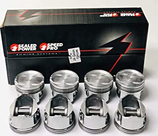 Sealed Power Cast Dish Pistons .030 compatible with Ford 7.0L 429 Bore Diameter 4.390 Bore 8 Set of